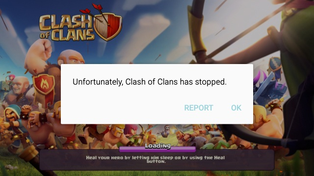 Clash of Clans Not Working